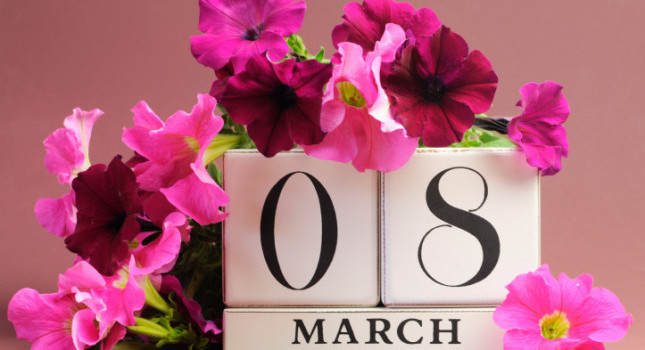 Save the date  for International Women's Day, March 8