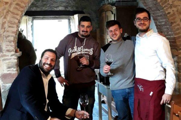 staff to wine