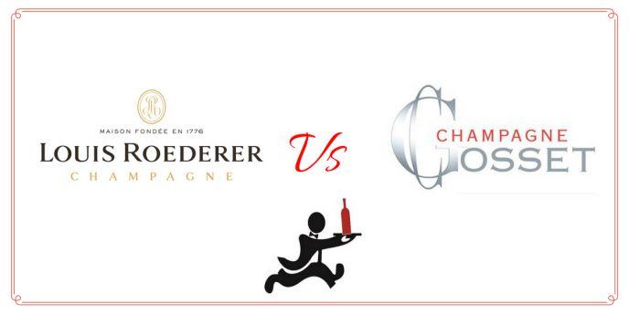 Louis Roederer vs Champagne Gosset