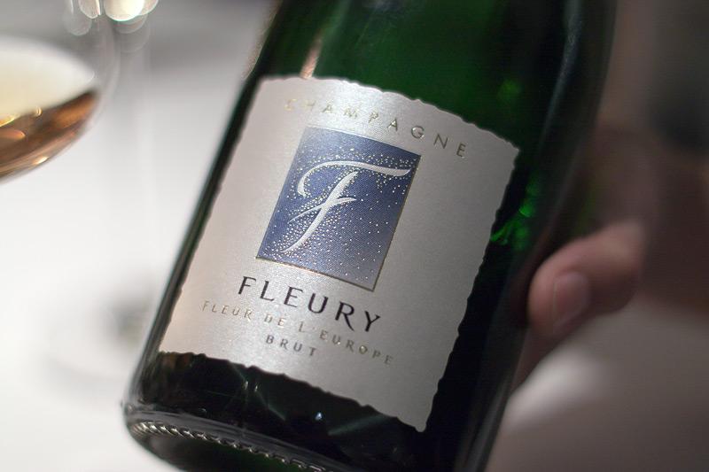 champagne fleury